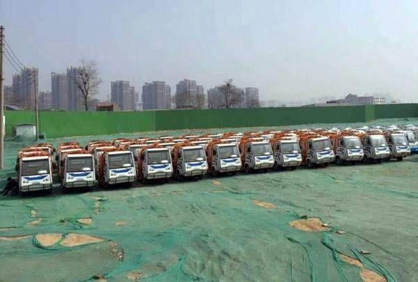 郑州市二七区城管执法局100台环卫车