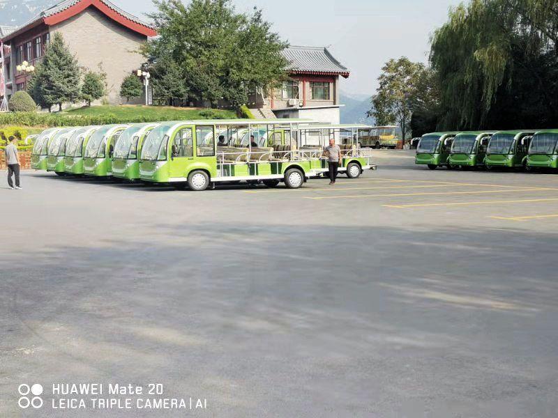 少林寺70台观光车